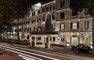 Metropole Hanoi Lays Railroad Through Hotel for Christmas