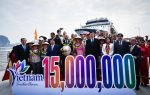 Vietnam welcomes the 15 millionth international visitor