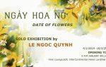 """Triển lãm tranh nghệ thuật """"Ngày hoa nở"""" tại Hive Lounge từ họa sĩ màu nước Lê Ngọc Quỳnh"""