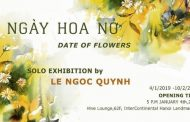 "Art exhibition ""Date of flowers"" at Hive Lounge from watercolor artist Le Ngoc Quynh"