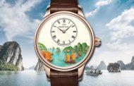 Thương hiệu đồng hồ Jaquet Droz đưa Vịnh Hạ Long lên thiết kế Petite Heure Minute độc bản
