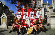 Western-style Winter Festival at Ba Na Hills